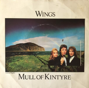 "Wings ‎- Mull Of Kintyre/Girls' School (7"") (VG-/G)"